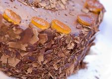 whit трюфеля именниного пирога померанцовый Стоковая Фотография