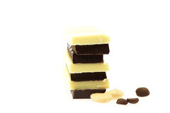 whit шоколада фасолей изолированный кофе nuts Стоковое Изображение