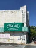 Whit Ash Furnishings, Columbia, South Carolina. Whit Ash Furnishings located on Gervais St in Columbia, South Carolina royalty free stock photos