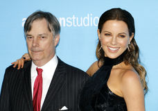 Whit Stillman et Kate Beckinsale Photo libre de droits