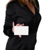 whit whitebusiness przedsiębiorstw odseparowana kobieta Zdjęcie Royalty Free