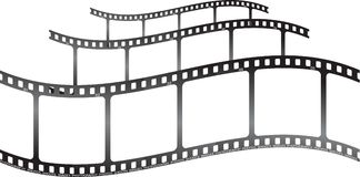 whita κυμάτων ταινιών χ tripple Στοκ φωτογραφία με δικαίωμα ελεύθερης χρήσης