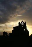 whitby的修道院 免版税库存图片