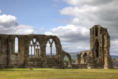 whitby的修道院 免版税库存照片