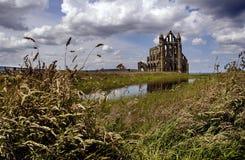 whitby的修道院 库存图片