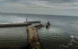 whitby的港口 免版税库存图片
