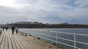 whitby的码头 免版税库存照片