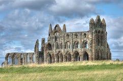 whitby abbey Royaltyfri Fotografi