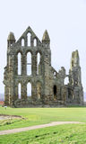 Whitby Abbey. Historical Whitby Abbey ruins, North Yorkshire Royalty Free Stock Image