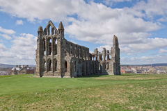 Whitby Abbey Stockfoto