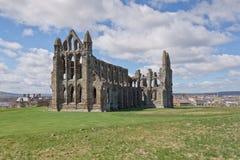 Whitby Abbey Arkivfoto