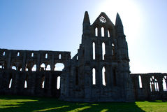 Whitby Abbey Lizenzfreies Stockbild