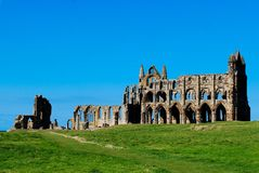 Whitby Abbey Lizenzfreie Stockfotografie