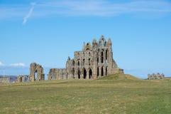 Whitby Abbey, altes Kloster in Whitby, England Lizenzfreies Stockfoto