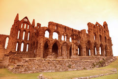 Whitby Abbey castle Stock Photos