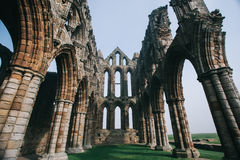 Whitby Abbey castle Stock Images
