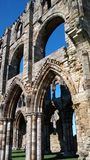 Whitby Abbey detail Stock Photography