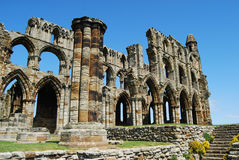 Whitby Abbey North Yorkshire Arkivfoto