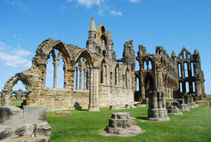 Whitby Abbey, North Yorkshire Stockbilder