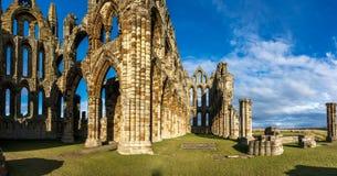 Whitby Abbey North Yorkshire Coast R-U photos stock