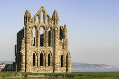 Whitby Abbey, Whitby, North Yorkshire. stock images