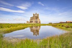 Whitby Abbey North Yorkshire England Großbritannien Lizenzfreie Stockfotografie