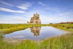 Whitby Abbey North Yorkshire England UK Royaltyfri Fotografi