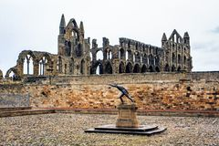 Whitby Abbey, north yorkshire, england. Royalty Free Stock Photography