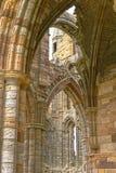 Whitby abbey ruin, yorkshire, uk. Royalty Free Stock Image