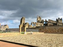 Whitby Abbey, U K Stockfotografie
