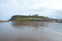 Whitby abbey and view Royalty Free Stock Image