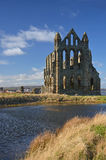 Whitby Abbey view Stock Photos