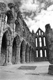 Whitby Abbey. Was a 7th century Christian monastery that later became a Benedictine abbey The abbey and its possessions were confiscated by the crown during the Royalty Free Stock Photography