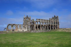 Whitby Abbey Whitby England Royaltyfri Bild