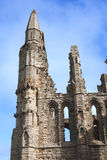 Whitby Abbey Whitby England Arkivbild