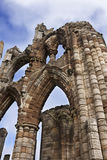 Whitby Abbey Whitby England Royaltyfria Foton