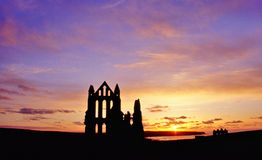 Whitby Abbey, Yorkshire coast Stock Photography