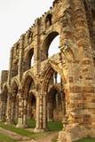 Whitby Abbey, Yorkshire, Reino Unido. Fotografía de archivo libre de regalías