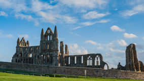 Whitby Abbey Yorkshire, UK Royaltyfri Bild