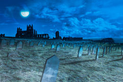 Whitby Abbey, Yorkshire, UK Stock Images