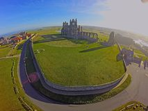 Whitby Abby Royaltyfria Bilder