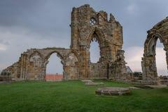 Whitby Abtei, England Lizenzfreie Stockfotos