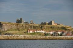 Whitby-Abtei, Nord-Yorkshire, Benediktinerabtei Lizenzfreie Stockfotos