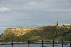 Whitby-Abtei, Nord-Yorkshire, Benediktinerabtei Stockfotografie
