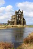 Whitby Abtei, Nordyorkshire, England Lizenzfreies Stockfoto