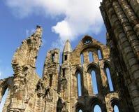 Whitby Abtei-Ruine Stockfotos