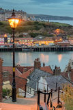 Whitby dans Yorkshire Photographie stock