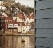 Whitby en stad i Yorkshire, England Fotografering för Bildbyråer