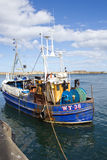 Whitby fishing boat Stock Images