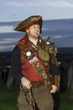 Whitby Goth周末海盗 免版税图库摄影